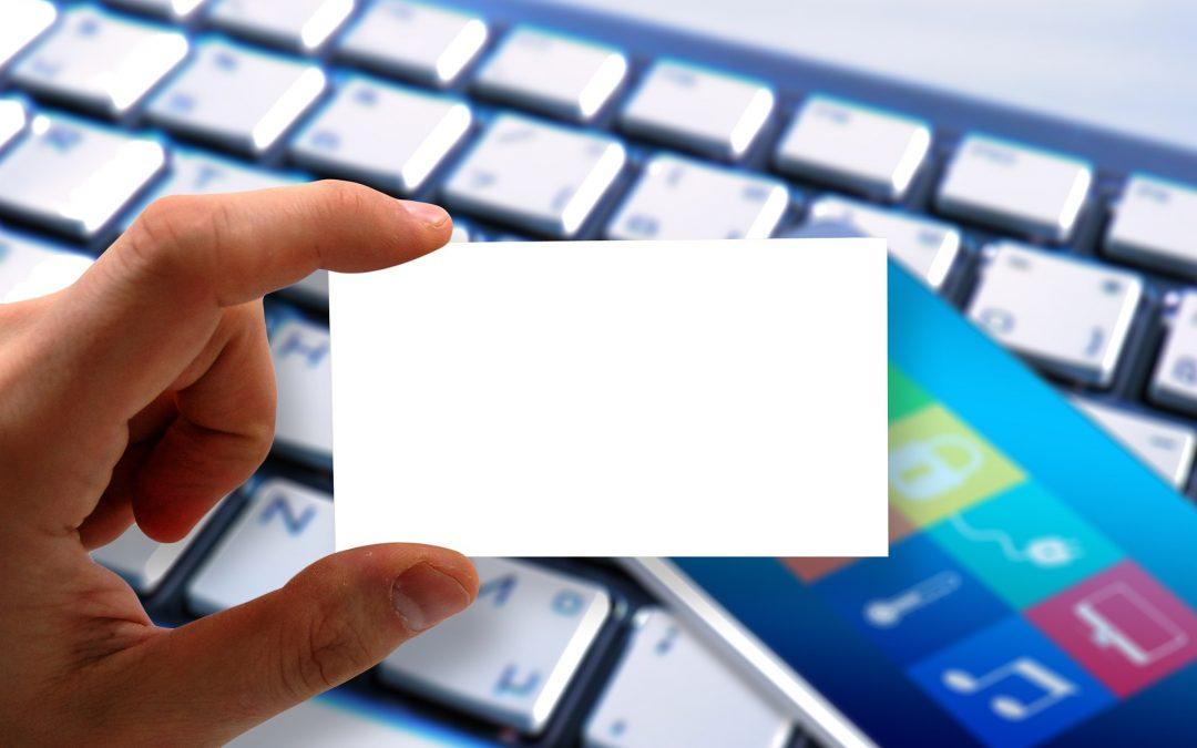 Pourquoi une carte de visite numérique